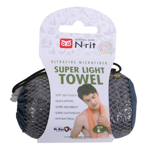 N-Rit Ultrafine Microfiber Super Light Towel [Large]