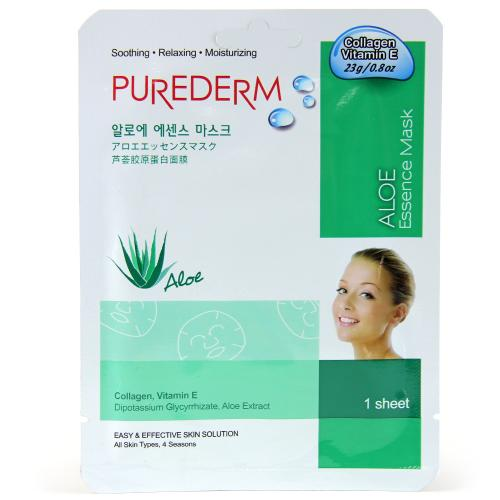 Purederm Essence Mask - Aloe