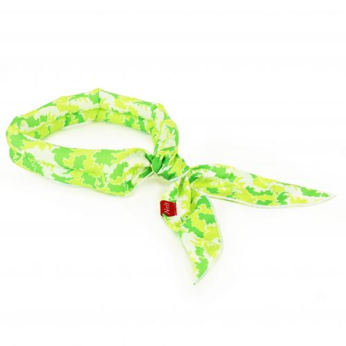 N-Rit [Green] Cool-X Polyester Scarf w/ High Tech Polymer Interior - Beat the Heat!