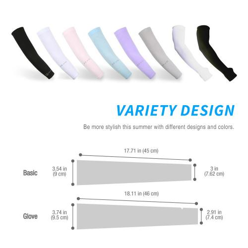 N-Rit Tube 9 Coolet  Cooling Compression Sports Arm Sleeve [Baby Pink] w/ 99% UV Protection for Outdoor Activities (Golf Training Cycling etc)