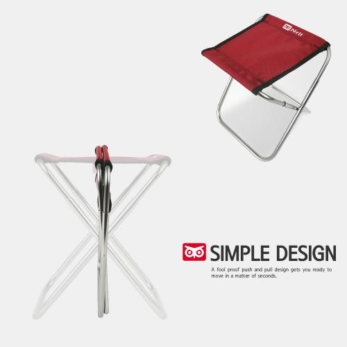 Small Compact Folding Chair w/ Storage Bag for Camping and Travel - Ultra Strong, Holds up to 200lbs!