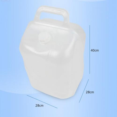 N-Rit Clear 20 Liter (5.3 Gallon) Smart Water Bag Jug Bottle (Doubles as a Basket When Empty) - Ideal for camping!
