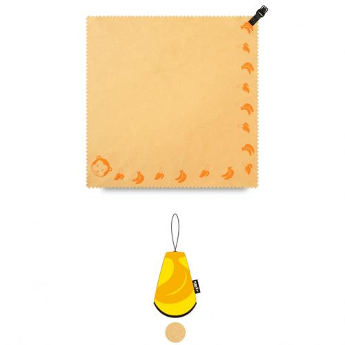 "N-Rit [Yellow] Campack Cleaner 7.87""x 7.87"" (20x20cm) Microfiber Cloth - Perfect for Cleaning Your Device!"
