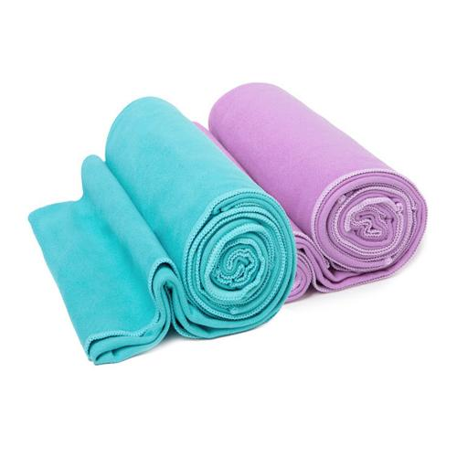 "Microfiber Sports Travel Towel [suede Towel] - Ultra Absorbent Fast Drying Durable Antibacterial Fabric - [green] [large 23.5""X 47""]"