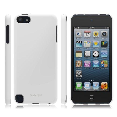 Solid White iPod Touch 5th Generation SLIM Series Premium Hard Cover Case