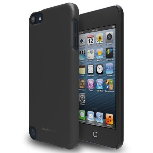 Gray iPod Touch 5th Generation SLIM Series Premium Hard Cover Case