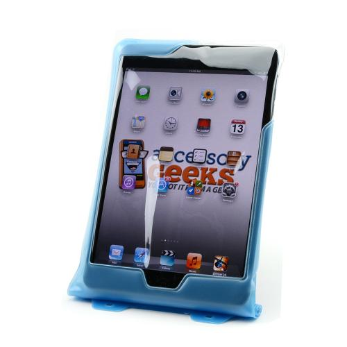 DiCAPac Light Blue Waterproof Case For Apple iPad Mini 1/2/3- WP-i20m