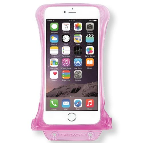 DiCAPac [Pink] 100% Waterproof Case for Apple iPhone 6 Plus, Samsung Galaxy Note Series Phones