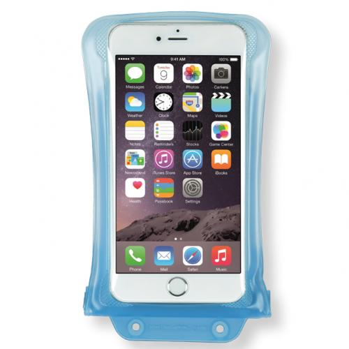 DiCAPac [Blue] 100% Waterproof Case for Apple iPhone 6 Plus, Samsung Galaxy Note Series Phones