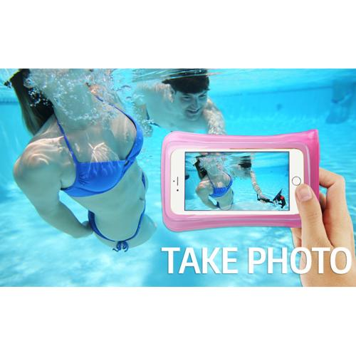 DiCAPac Waterproof Case for Apple iPhone 6 [Smoke] - Protect Your Smartphone From Water This Summer! WP-C1A