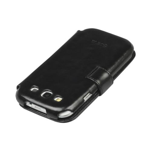 OEM Zenus Samsung Galaxy S3 Masstige Heritage Leather Diary Case w/ ID Slots - Black