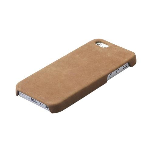 OEM Zenus Apple iPhone 5 Prestige Vintage Leather Bar Case - Brown
