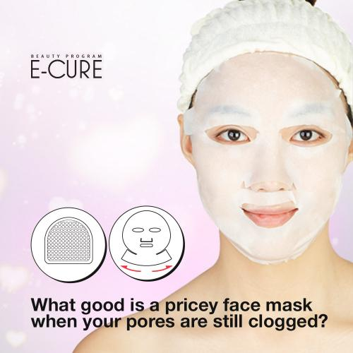 E-CURE All in One Care 2-Piece Intensive Shaping & Firming Face Mask