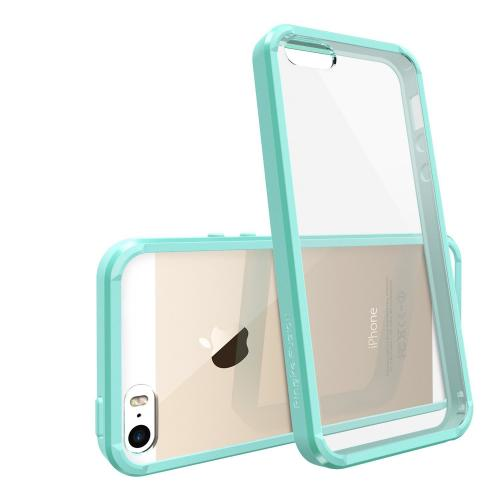 [free Hd Film] Ringke Fusion Iphone 5 / 5s Case Bumper [mint] The Best Selling Shock Absorption Bumper + Design It Yourself Premium Hybrid Hard Case