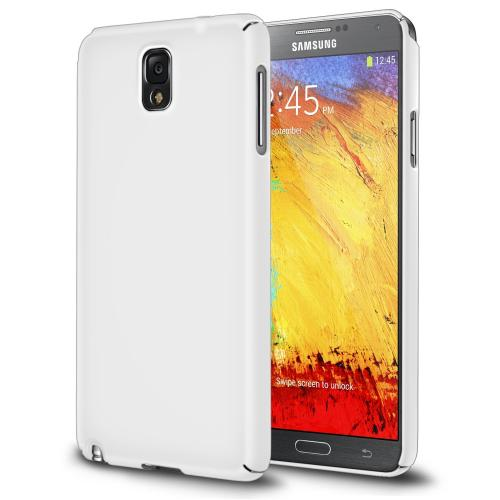 Galaxy Note 3 Case - Ringke SLIM Case [Better Grip][LF WHITE] Full Top and Bottom Coverage Premium Dual Coated Hard Case for Samsung Galaxy Note 3 - Eco Package