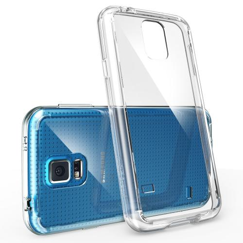 Galaxy S5 Case, Ringke Fusion Case [free Hd Film/drop Protection][crystal View] Shock Absorption Bumper Premium Hybrid Hard Case Samsung Galaxy S5