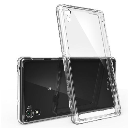 Xperia Z2 [ringke] Hybrid Case - Premium Slim Protective Hybrid Shockproof Bumper Case W/ Free Screen Protector Included [customizable Diy Case]