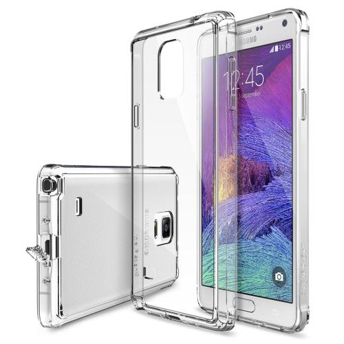[Samsung Galaxy Note 4] Case, Ringke [Clear] FUSION Series Shock Absorption Bumper Premium Hybrid Hard Case