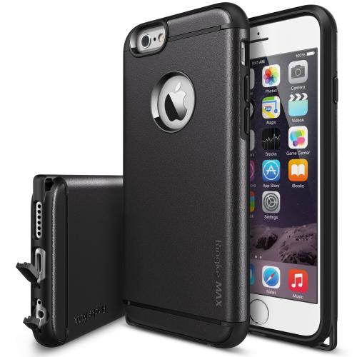 Apple iphone 6/6S Case - Ringke MAX Case [free Hd Film][black] Dual Layer Case