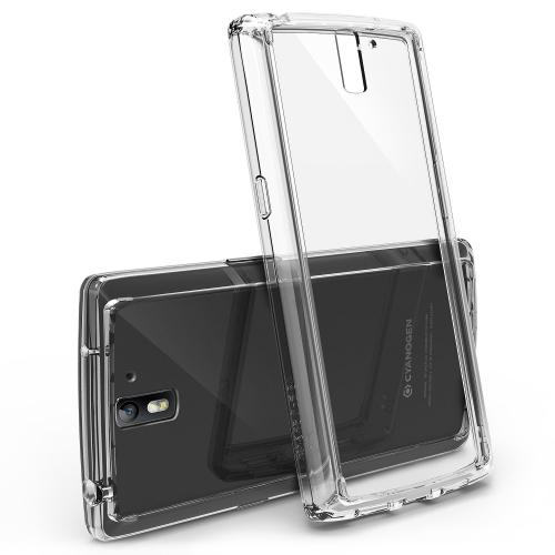 Oneplus One Case - Ringke Fusion Case [free Hd Film/drop Protection][crystal View] Shock Absorption Bumper Premium Hybrid Hard Case For Oneplus One