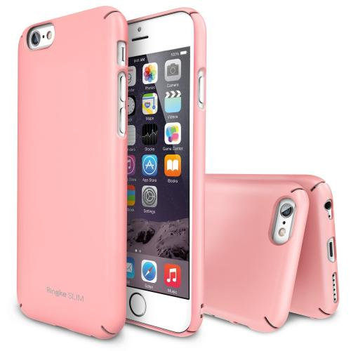 Baby Pink Apple iPhone 6 (4.7 inches) SLIM Series Premium Dual Coated Hard Cover Case