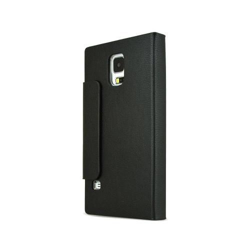 Nodea Black Samsung Galaxy S5 Hanton Full Touch Diary Series Folio Case [pu/faux Leather]
