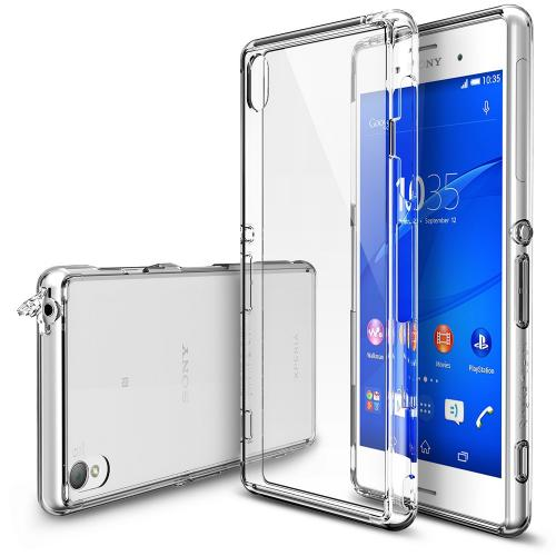 Xperia Z3 [ringke] Hybrid Case - Premium Slim Protective Hybrid Shockproof Bumper Case W/ Free Screen Protector Included [customizable Diy Case]