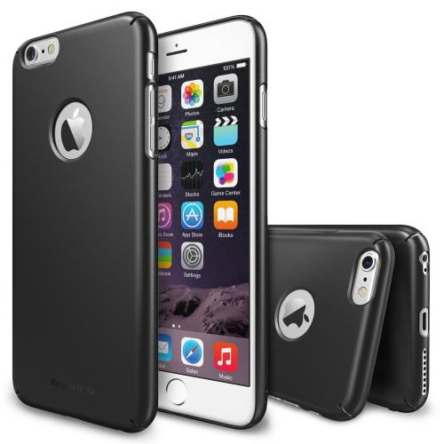 "Iphone 6 Plus Case - Ringke Slim Iphone 6 Plus Case 5.5 "" [free Hd Film/all Around Protection][logo-cut Out Gunmetal] Dual Coated Hard Case"