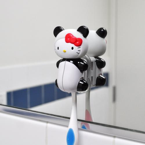 Sanrio Panda Hello Kitty Flipper Toothbrush Holder