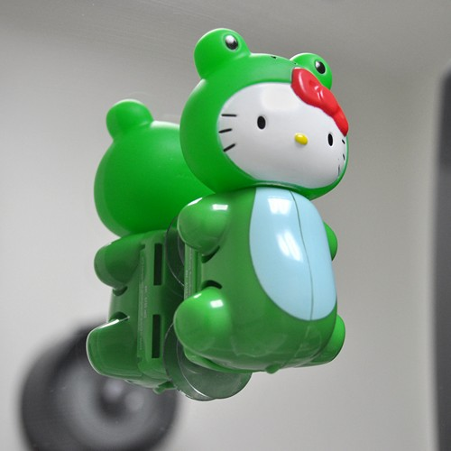 Officially Licensed Sanrio Frog Hello Kitty Flipper Toothbrush Holder