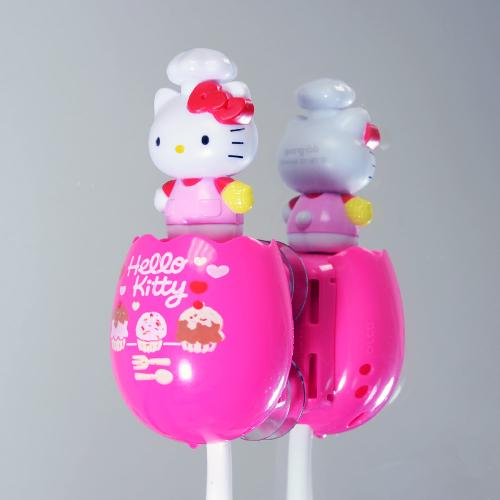 Officially Licensed Sanrio Baking Hello Kitty Flipper Toothbrush Holder