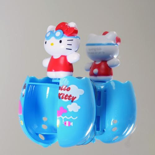 Officially Licensed Sanrio Swimming Hello Kitty Flipper Toothbrush Holder