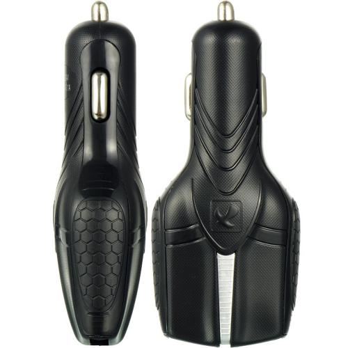 Black Dual USB Port [3.1A & 2.1A] Car Charger Adapter - Perfect for Tablets!