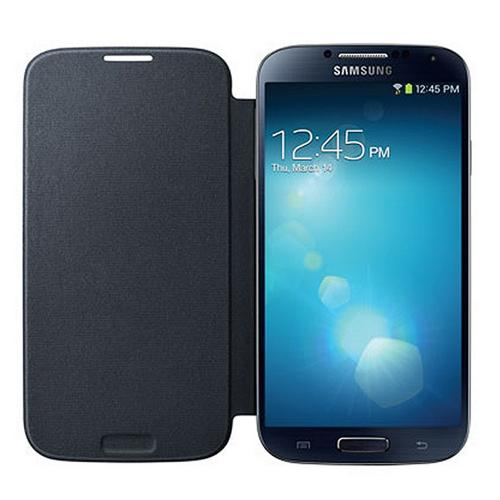 OEM Samsung Black Protective Flip Cover Hard Case for Samsung Galaxy S4