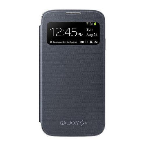 OEM Samsung Black S-View Protective Flip Cover Hard Case for Samsung Galaxy S4 - EF-CI950BBESTA