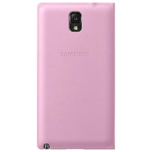 Samsung Baby Pink S-View Flip Cover Diary Case for Samsung Galaxy Note 3 - EF-CN900BIESTA