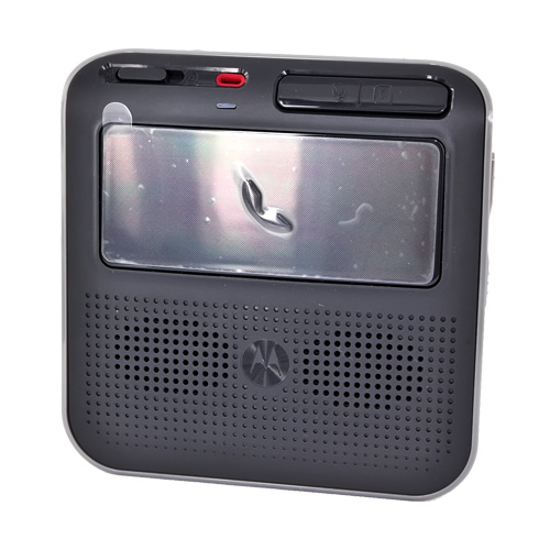 Original Motorola T325 Universal Advanced In-Car Bluetooth Speakerphone, 89345N - Black