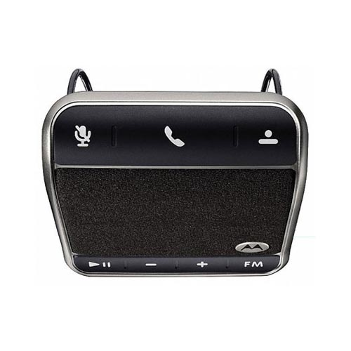 Original Motorola Universal Bluetooth In-Car Roadster Speakerphone, 89423N - Black