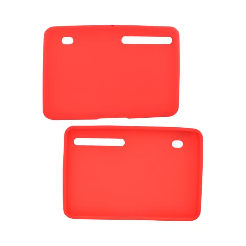 Original Motorola Xoom Silicone Case, 89486N - Red