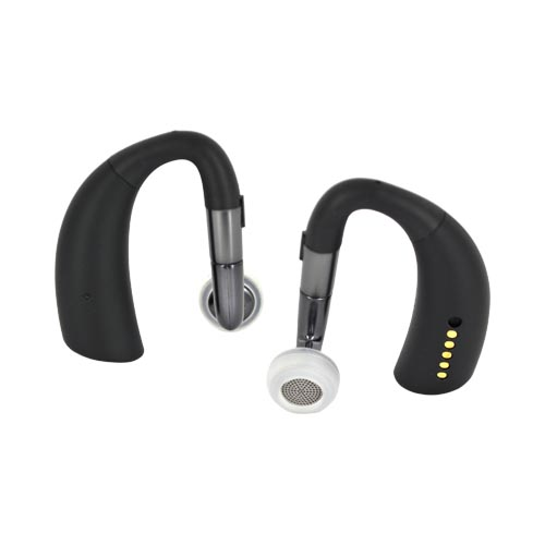 Original Motorola Elite Sliver Universal Bluetooth Headset, 89503N - Black