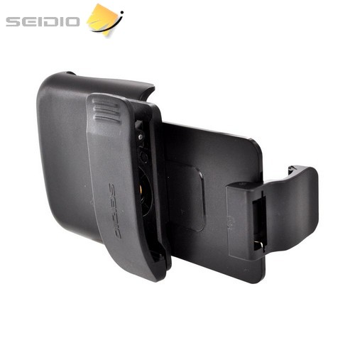 OEM Seidio HTC One S Spring Clip Holster w/ Swivel Belt Clip – Black (Works Only with Seidio Active Case!)