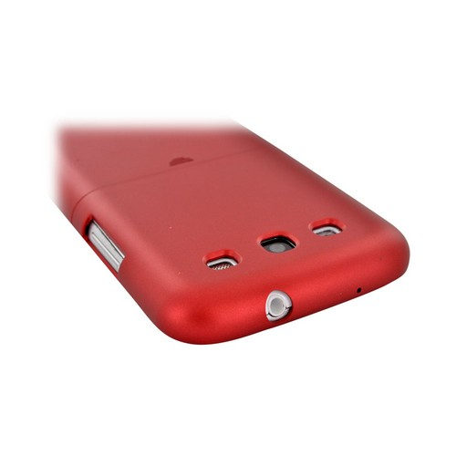 Seidio Samsung Galaxy S3 Surface Rubberized Hard Case, CS43SSGS3-GR - Red