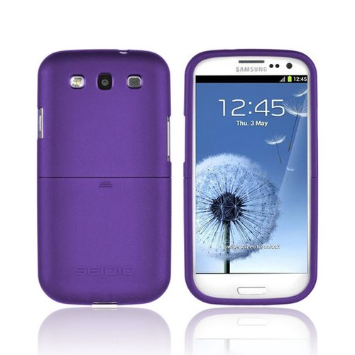 Seidio Samsung Galaxy S3 Surface Rubberized Hard Case, CSR3SSGS3-PR - Purple