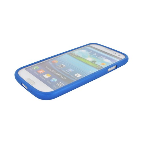 Seidio Samsung Galaxy S3 Surface Rubberized Hard Case, CSR3SSGS3-RB - Blue