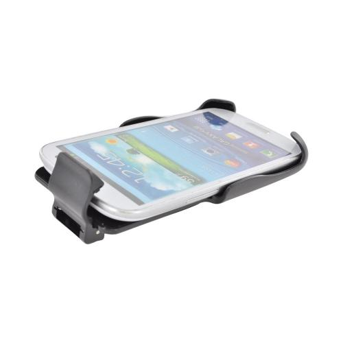 Seidio Active Series Samsung Galaxy S3 Spring Clip Holster w/ Swivel Belt Clip - Black (Works Only with Seidio Active Case!)