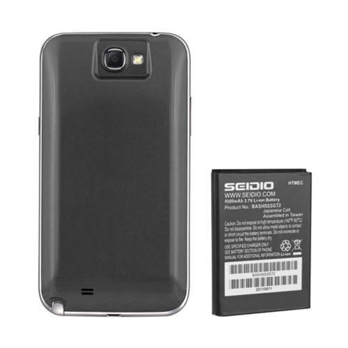 Seidio Innocell Series Gray Extended Battery & Door for Samsung Galaxy Note 2 (4500 mAh)