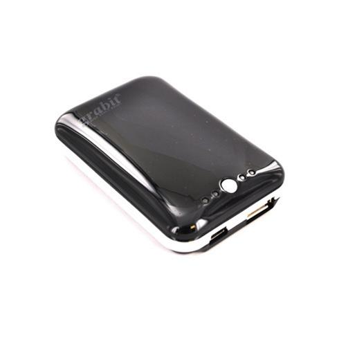 Universal Portable Power Battery Bank For Apple iPhone/ iPod, Micro/Mini USB (3000 mAh) - Black
