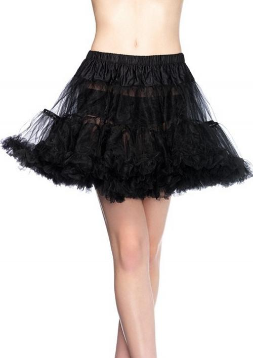 LegAvenue Costume Black Petticoat w, Layered Tulle