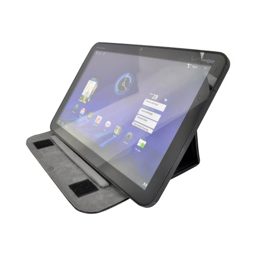 "Original Kroo USA Universal (Up to 9"" Tablets like Apple iPad/ iPad 2) Folding Wrapper Case Stand, 9-FIT: MWRPLGK1 - Black"