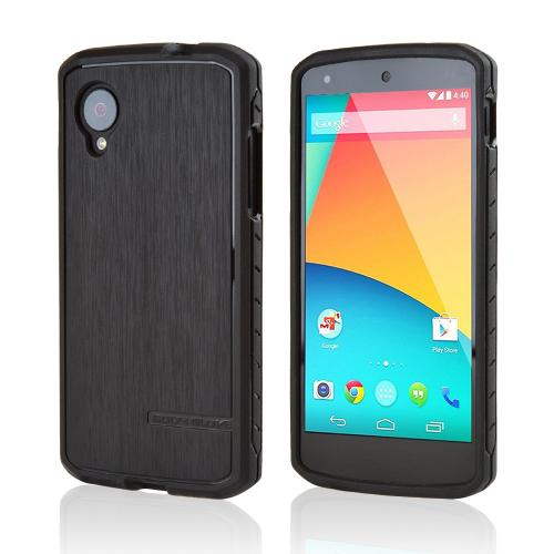 Body Glove Black Dimensions Satin Series Slim Protective Crystal Silicone Case for LG Google Nexus 5 - 9388901